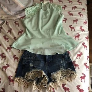 Almost famous shorts NWOT